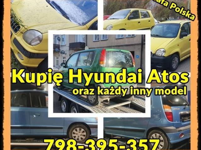 Pilnie kupimy Każdego Hyundaia Atosa Getz,Accent,Elantra
